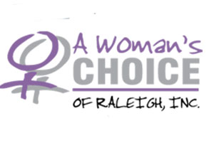 Woman's Choice of Raleigh logo